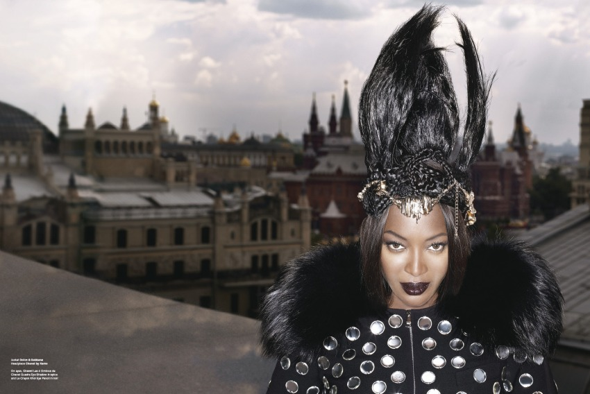 01 Naomi Campbell by Karl Lagerfeld for V61