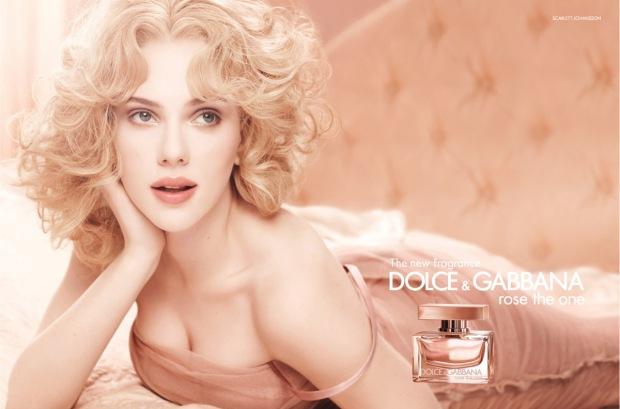 Scarlett Johansson for Dolce & Gabbana Fragrance 01