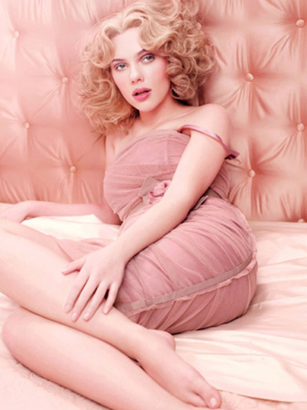 Scarlett Johansson for Dolce & Gabbana Fragrance 03