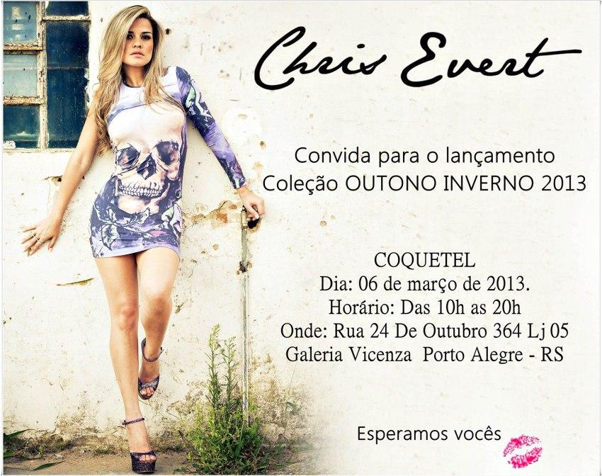 chris evert lancamento outono inverno 2013 convite coquetel got sin blog moda vestidos sexy