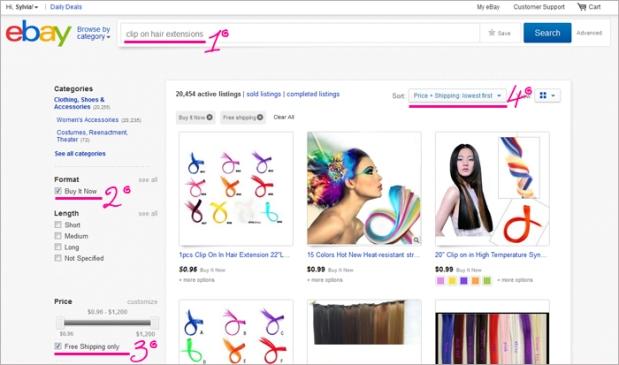 como-comprar-no-ebay-aplique-cabelo-colorido-tic-tac-blog-got-sin02