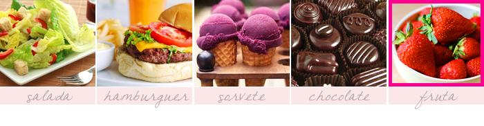 meme-25-coisas-que-prefiro-sininhu-sylvia-santini-comida-fruta-morango-hamburguer-chocolate-sorvete-salada-got-sin