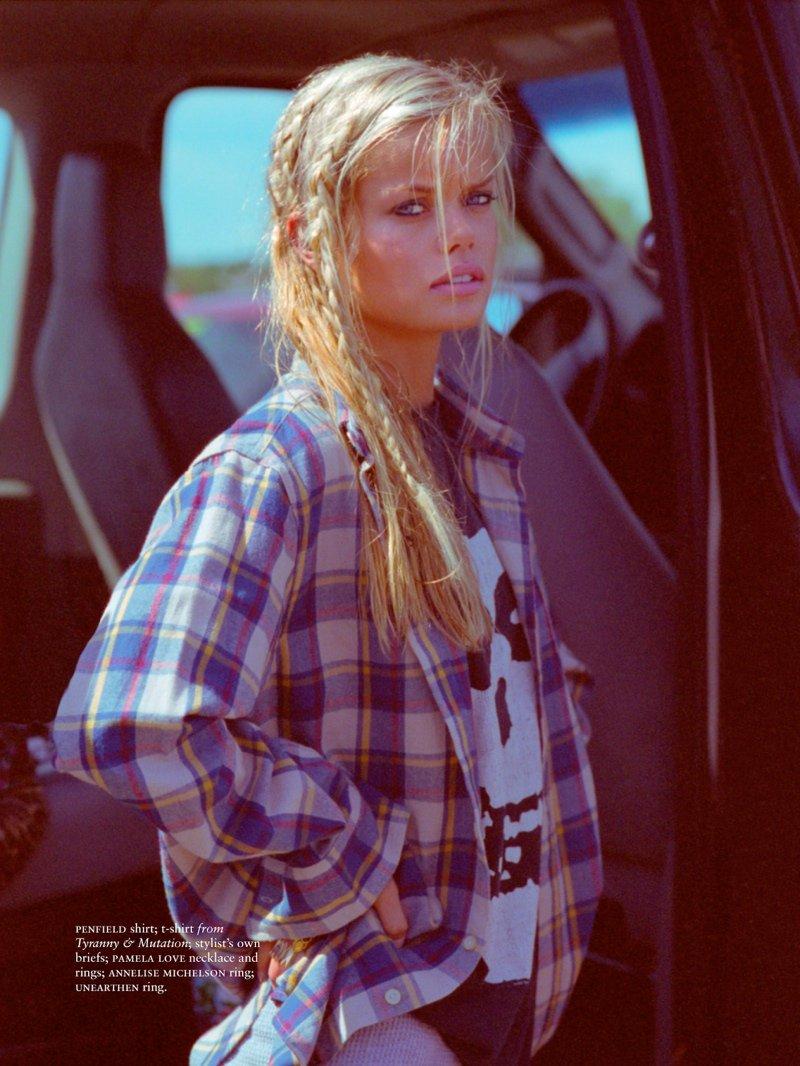estilo grunge inverno 2014 camisa xadrez frida-aasen-estilo-shoot1