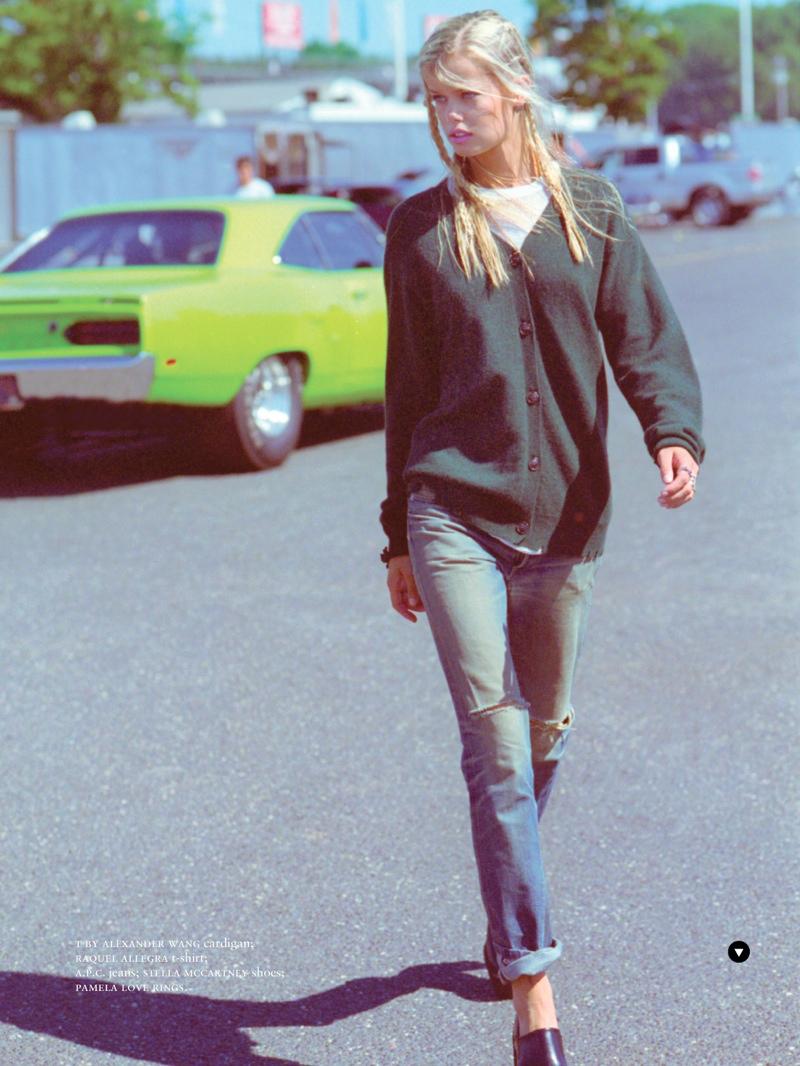 frida-aasen-estilo grunge inverno 2014 camisa xadrez shoot10