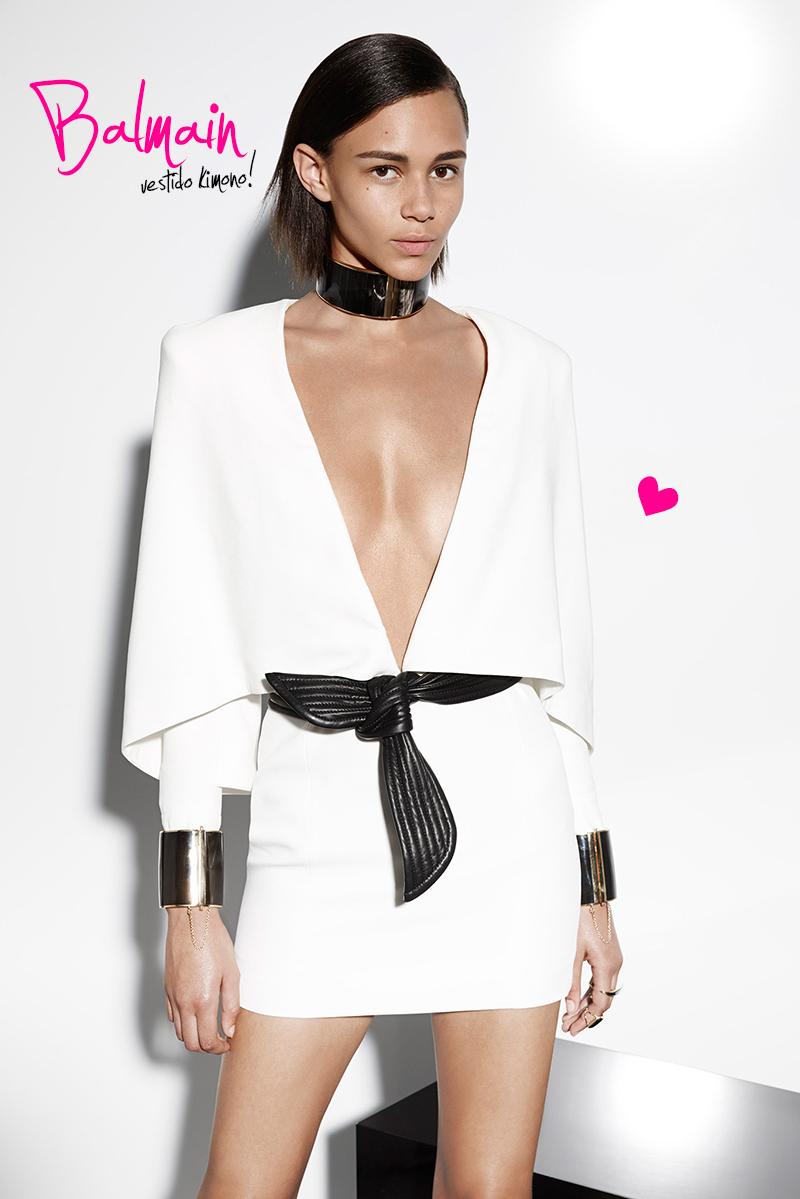 moda Balmain resort2015 vestido kimono blog got sin 01