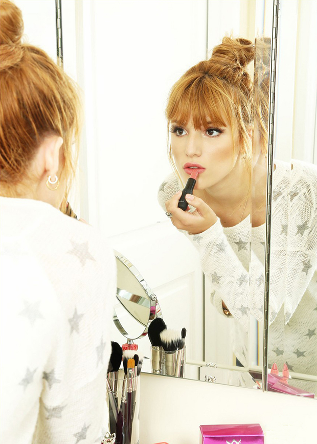 Bella Thorne Gets a Back-To-School Head-start with Vera Wang`s New Fragrance 'Pink Princess'