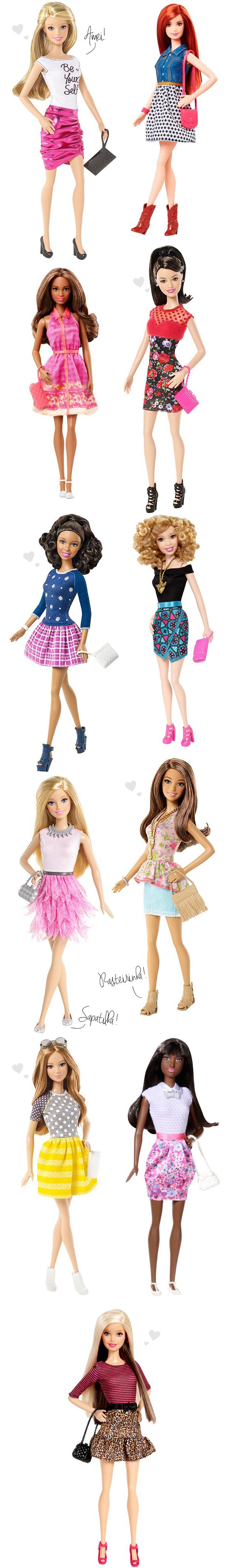 Barbie fashionista 2015 etnias boneca sua cara blog got sin 02