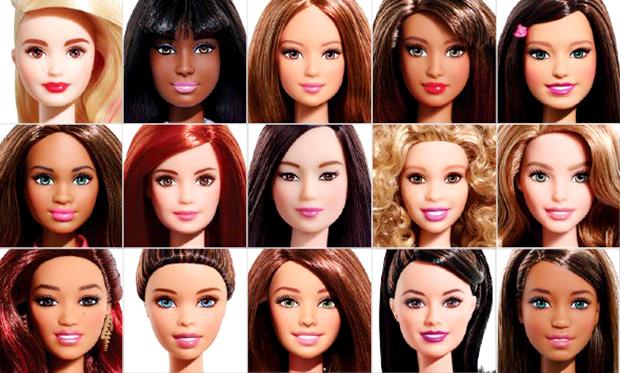 Barbie fashionista 2015 etnias boneca sua cara blog got sin