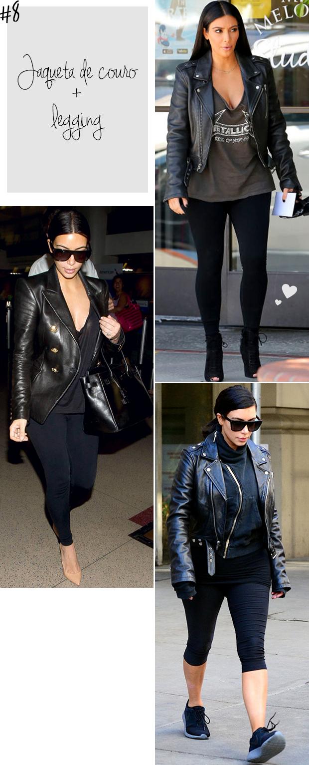 kim kardashian legging jaqueta de couro blog got sin -