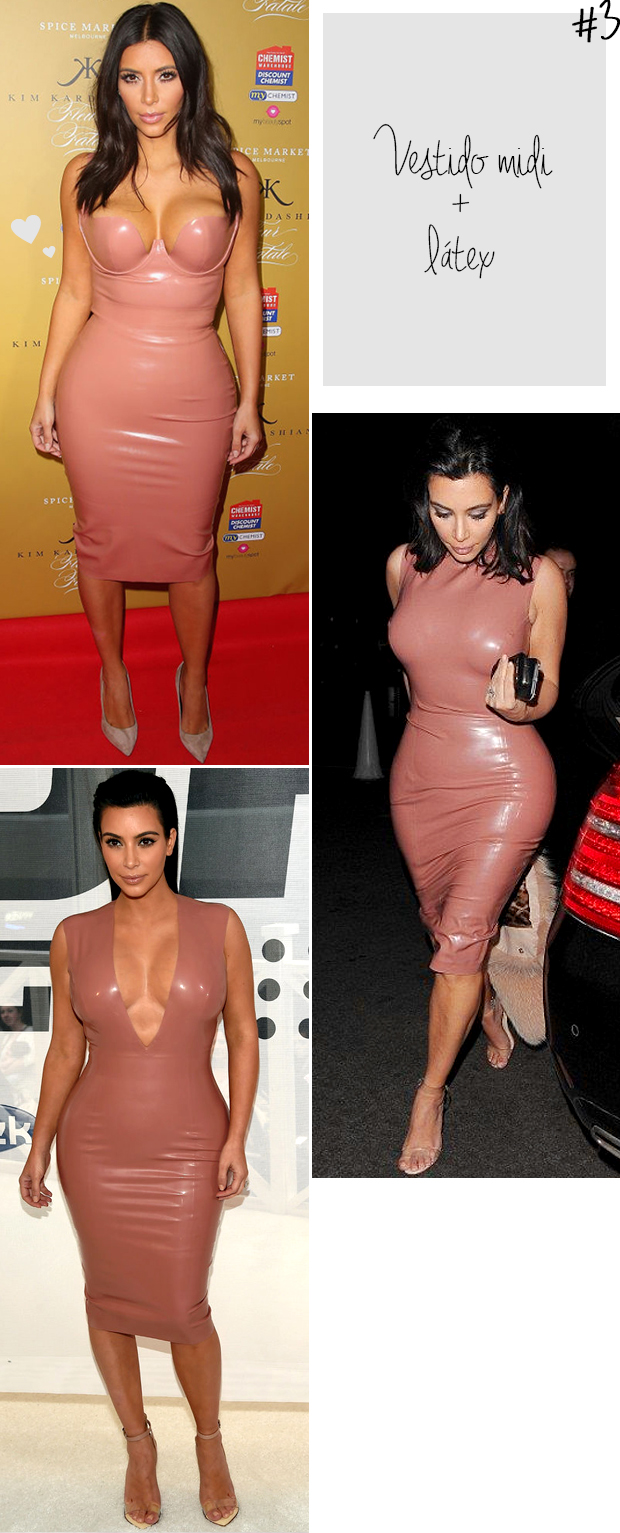 kim kardashian vestido bodycon latex nude blog got sin -
