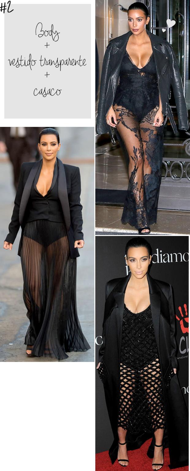 kim kardashian vestido transparente casaco preto jaqueta blazer blog got sin -