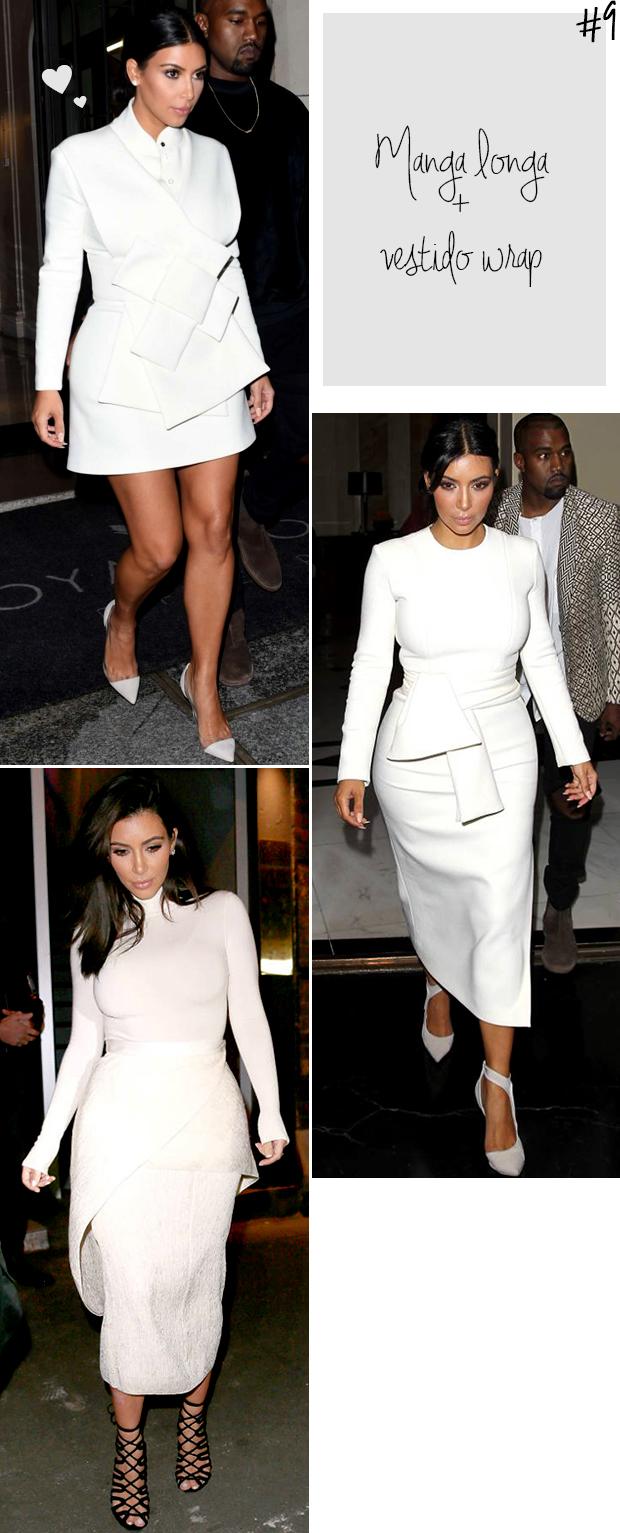 kim kardashian vestido wrapped branco blog got sin 2