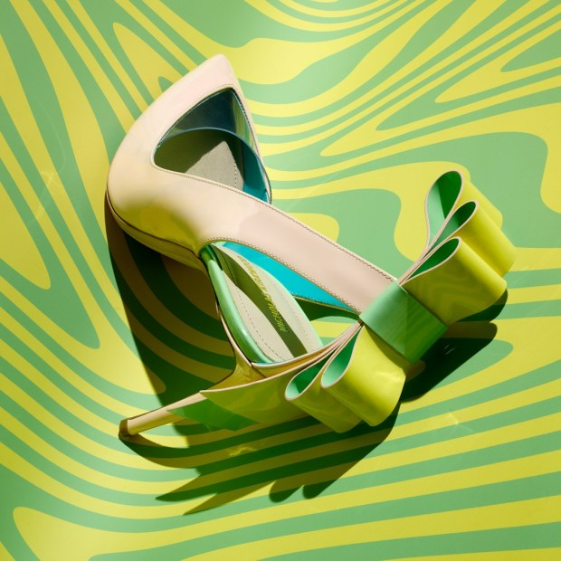 Nicholas Kirkwood the origami pump  sapatos mais ousados da temporada mitchel feinberg blog got sin