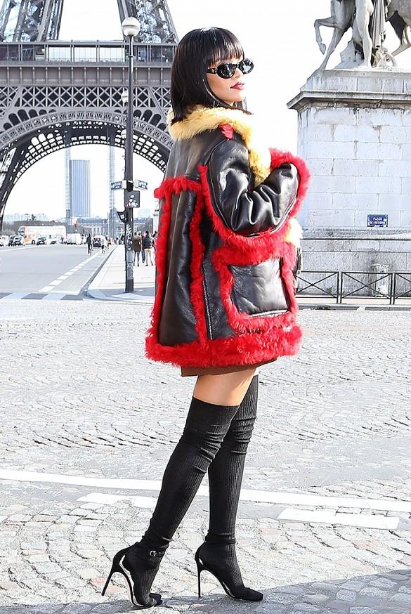 rihanna sandália de tiras chaos manolo blahnik moda blog got sin 08
