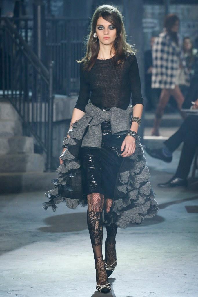 chanel pre fall 2016 moda e cinema 60s desfile blog got sin 06