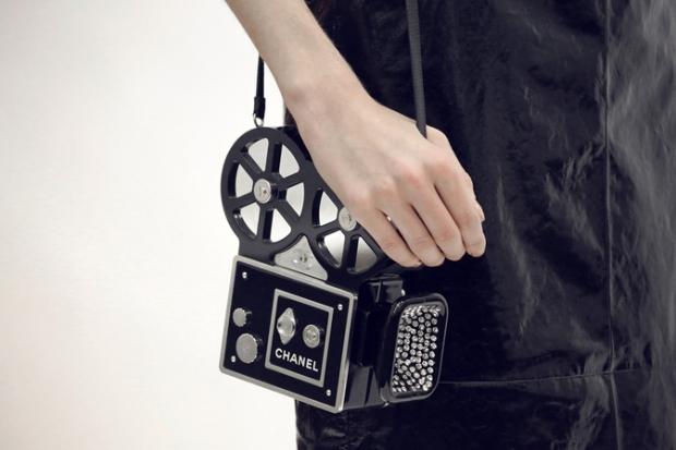 chanel pre fall 2016 moda e cinema 60s desfile blog got sin bolsa camera filmadora camera bag 01