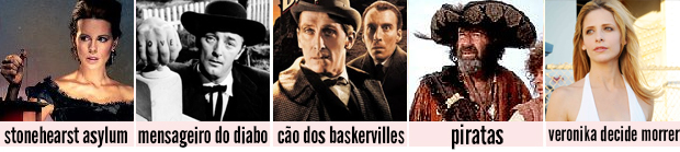 top 5 favoritos - filmes