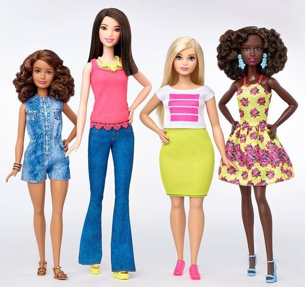 Barbie Fashionistas - petite curvy tall - novos corpos - padrão de beleza - boneca - got sin 02