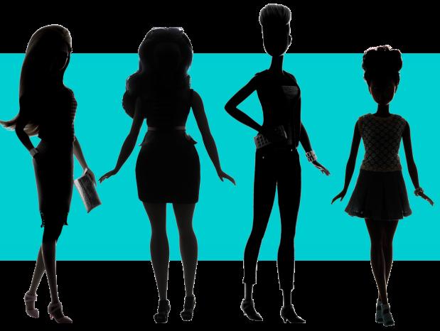 Barbie Fashionistas - petite curvy tall - novos corpos - padrão de beleza - boneca - got sin 03