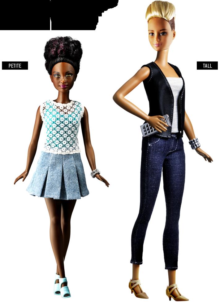 Barbie Fashionistas - petite curvy tall - novos corpos - padrão de beleza - boneca - got sin 05