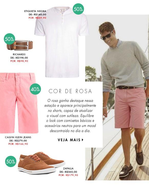 moda masculina dica de looks para homens cor de rosa blog got sin