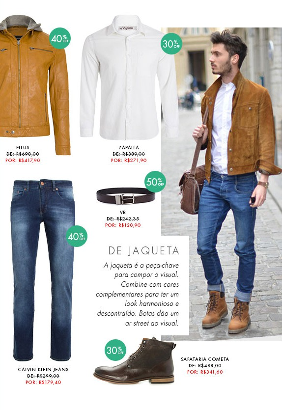 moda masculina dica de looks para homens jaquetas blog got sin