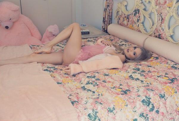 wildfox beverly hills lingerie rosa pink blog got sin 10