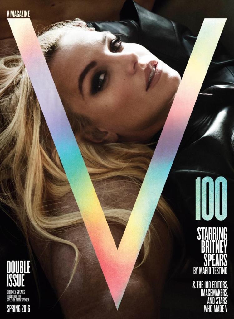 Britney Spears V Magazine 100 by Mario Testino capa blog got sin 01