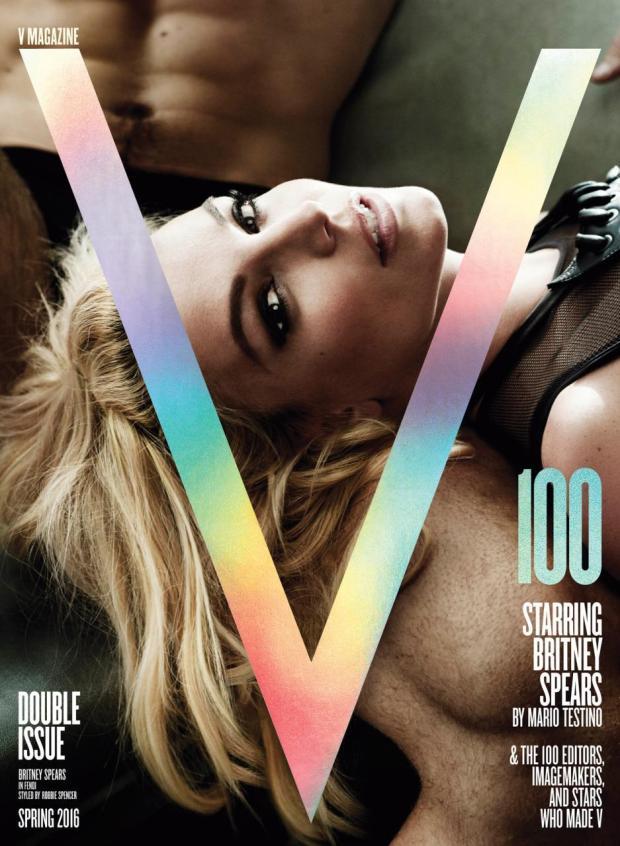 Britney Spears V Magazine 100 by Mario Testino capa blog got sin 02