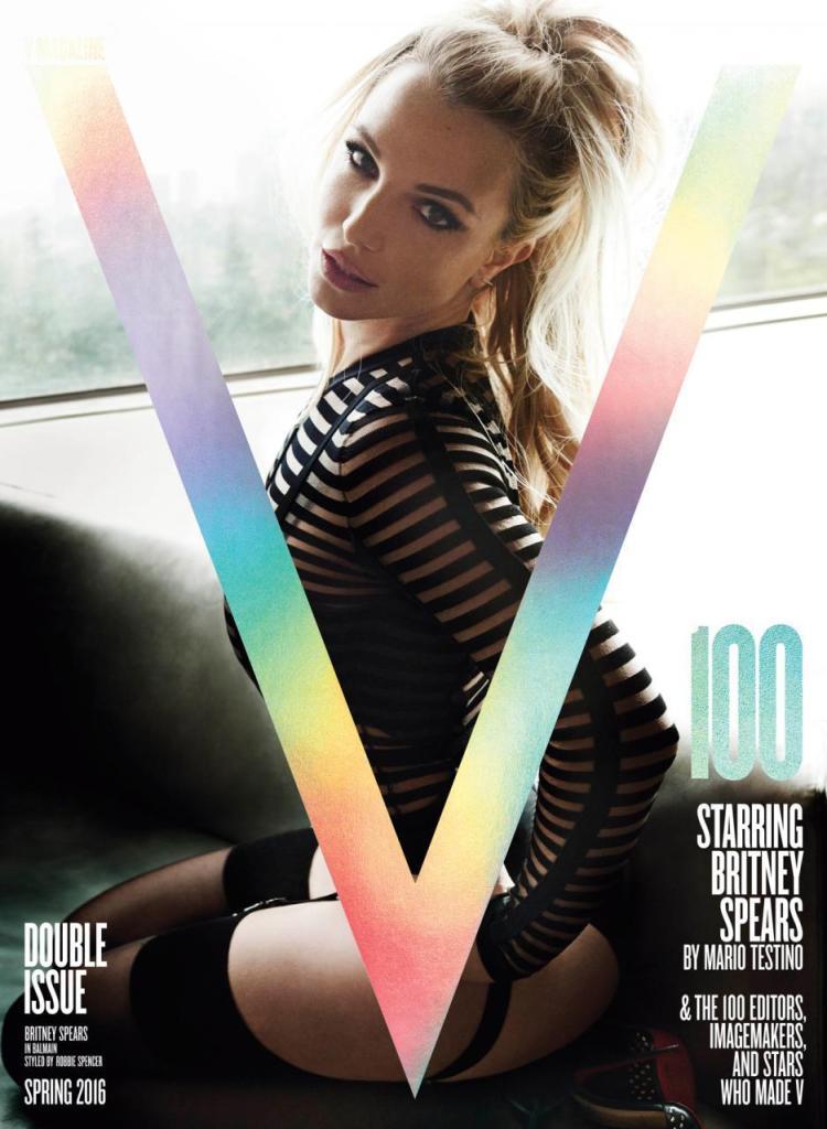 Britney Spears V Magazine 100 by Mario Testino capa blog got sin 03