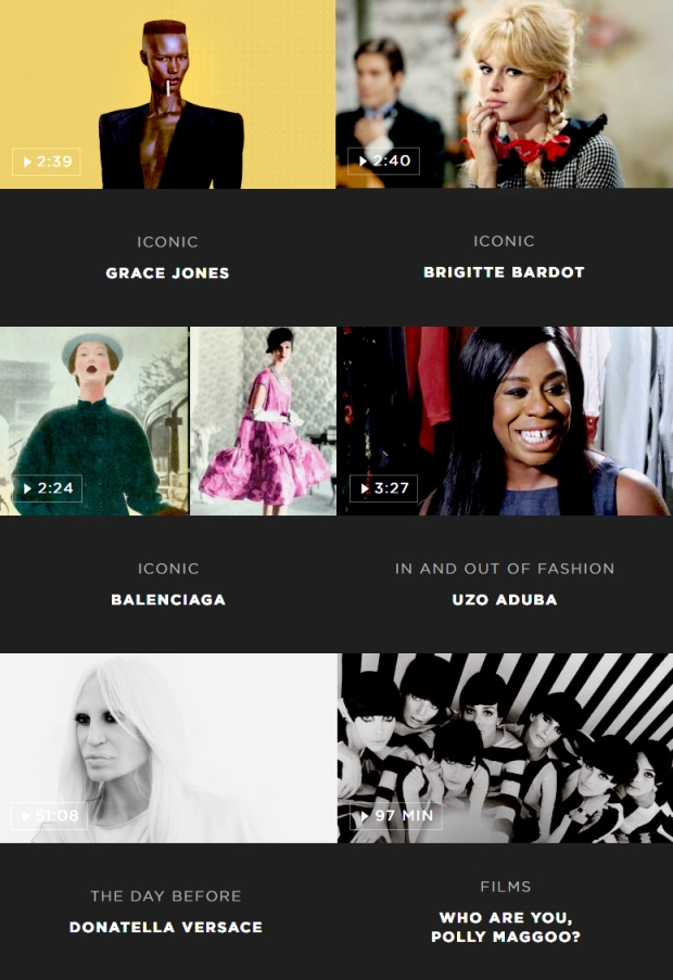 Netflix da Moda M2M Made to Measure fashion videos blog got sin 10