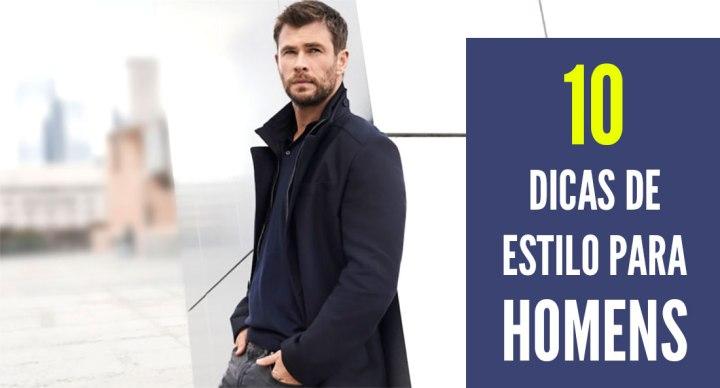 Moda masculina – 10 Dicas para homem se vestir bem gastandopouco