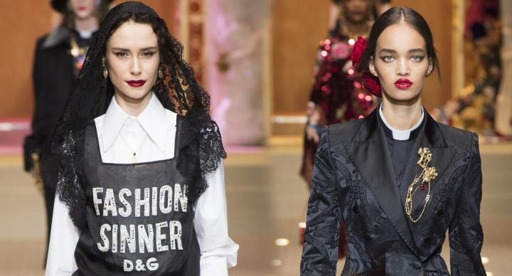 Dolce & Gabbana – Fashion Sinner – pecado, devoção e sacrilégio com amoda