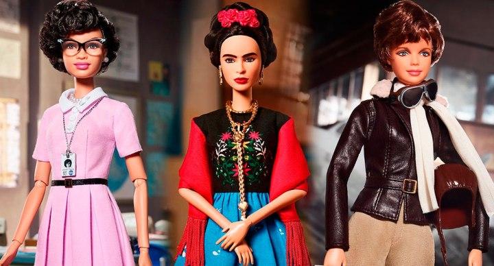 Barbie homenageia as mulheres poderosas dahistória!
